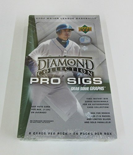 2004 Upper Deck Diamond Collection Pro Sigs Baseball Box (Hobby)