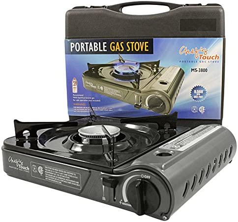 Chef s Touch Stainless Steel Portable Gas Stove