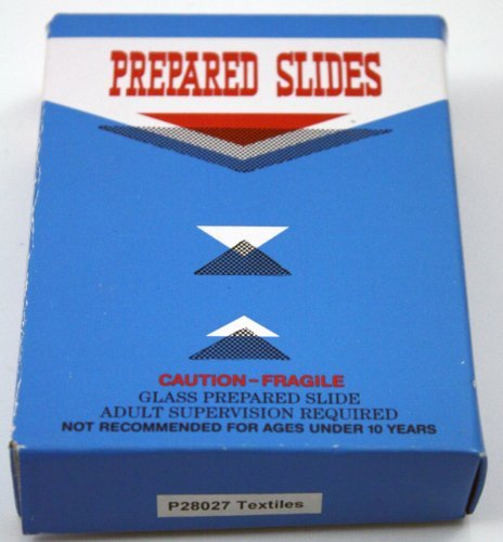 - Prepared Textile Fiber Slides Set of 12