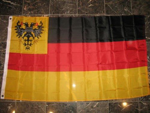 Moon Knives 3x5 German 1815-1866 Confederation 1848-1866 Deutscher Bund Flag 3x5 - Party Decorations Supplies For Parades - Prime Outside, Garden, Men Cave Decor Flag