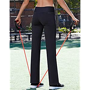 Champion Women's Absolute Semi-Fit Pant With SmoothTec Waistband, Black, LS