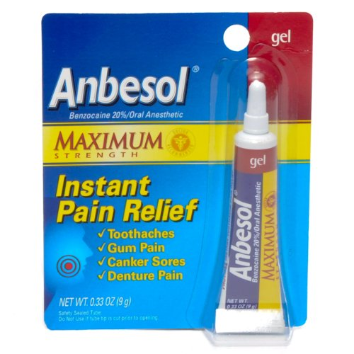 Amazon.com: Anbesol Liquid Oral Anesthetic Maximum
