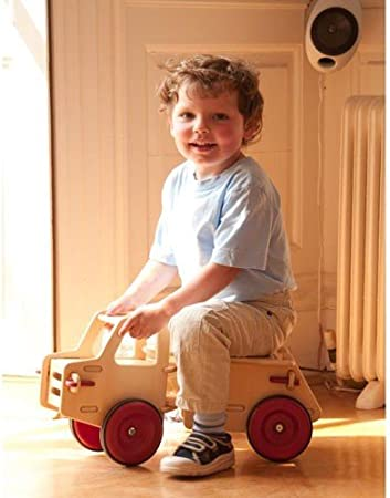 MOOVER Wooden Baby Truck Natural