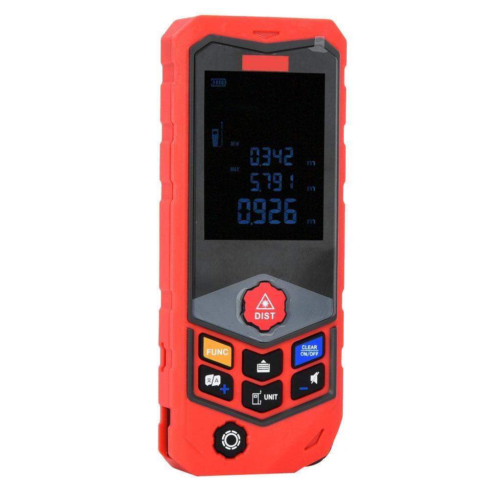 Naroote Instrumento de medición de distancia de regla de medidor ...