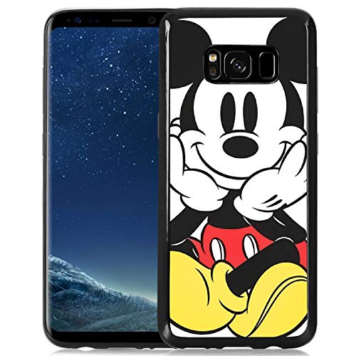 Disney Mouse Mickey Phone Case Fit for Samsung Galaxy S8 Plus [6.2-Inch]