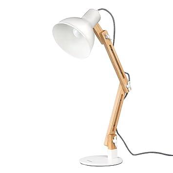 Desk Work Lamp: Tomons Wood Swing Arm Desk Lamp, Designer Table Lamp, Reading Lights, Study  Lamp,Lighting