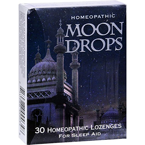 2Pack! Historical Remedies Moon Drops for Sleep Aid - Case of 12 - 30 Lozenges