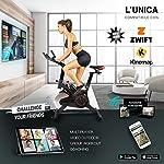 YM-Cyclette-da-Casa-Bici-Spinning-Bike-Fit-Display-LCD-Multifunzione-Bluetooth-App-ZWIFT-e-KINOMAP-Resistenza-Regolabile-Sensori-Pulsazioni-Sella-e-Manubrio-Regolabili-Ruote-2020