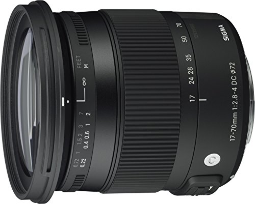 Sigma 17-70mm F2.8-4 Contemporary DC Macro OS HSM Lens