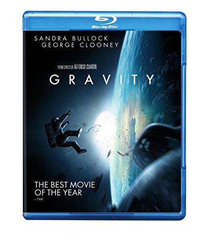 Gravity Blu-Ray German DVD Cover (2014)
