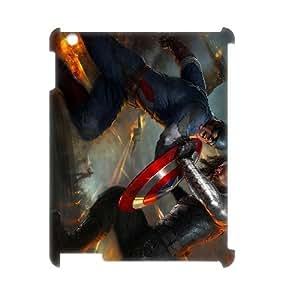 C-EUR Captain America 2 Pattern 3D Case for iPad 2,3,4