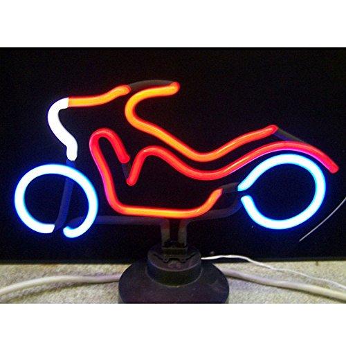 Sculpture Motorcycle Neon - Neonetics Indoor Decoratives Motorcycle Neon Sculpture