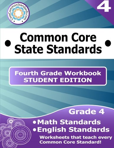 Fourth Grade Common Core Workbook - Student Edition