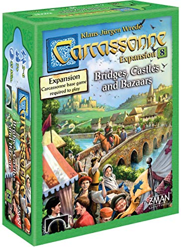 Carcassonne Expansion 8: Bridges, Castles, and - Carcassonne Castle