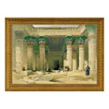 Design Toscano Grand Portico of the Temple of Philae Canvas Replica Painting: Grande