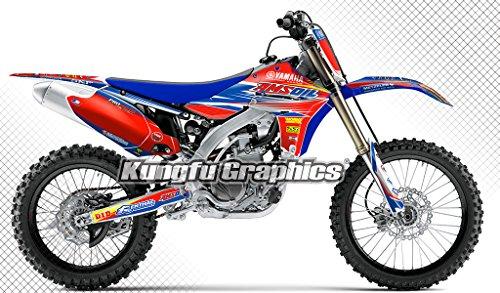 [해외]2010 ~ 2013 Yamaha yz450f 프론트 사이드 플레이트, 프론트 및 리어 펜더, 하부 포크 가드, 라디에이터 슈라우드, 스윙 암 및 에어 박스 Complete Cylinder/2010 to 2013 Ya