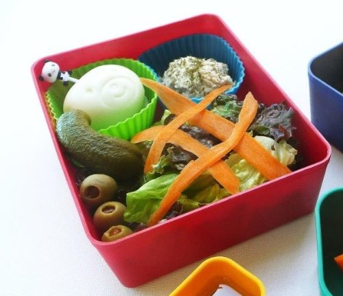 laptop lunches bento ware bento buddies 4 bpa free lunchbox containers with. Black Bedroom Furniture Sets. Home Design Ideas