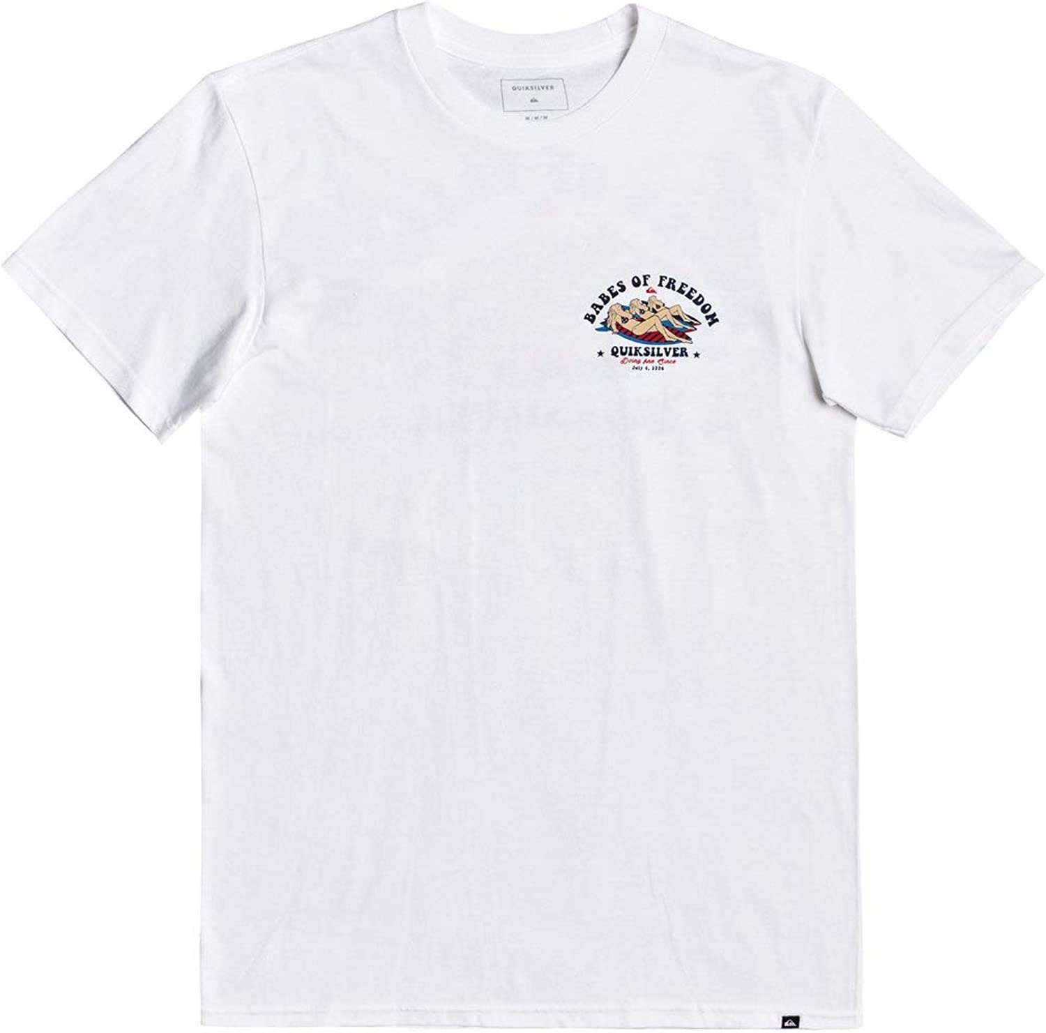 Quiksilver Mens 4th Babes of Freedom Tee