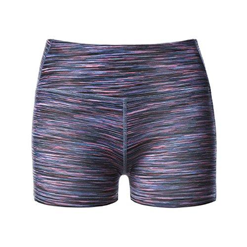 LAPASA Pantalón Corto Deportivo para Mujer (Running, Fitness, Estiramiento) Authentic Purple (Multicolor)
