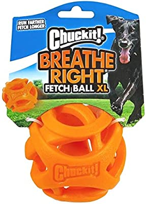 Chuckit CU32216 Pelota Breathe Right Fetch Ball Xlarge De Chuckit ...