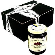 Hafi Lingonberry Preserves, 14.1 oz Jar in a BlackTie Box
