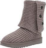 UGG Women's Classic Cardy Winter Boot, Grey, 7 B US