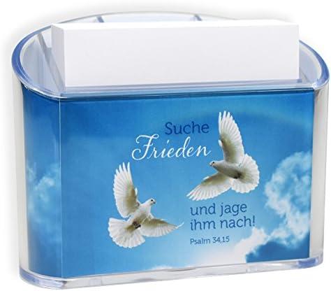 Uljö °°JL2019 Suhe Frieden Zettelbox mit Stifteköcher