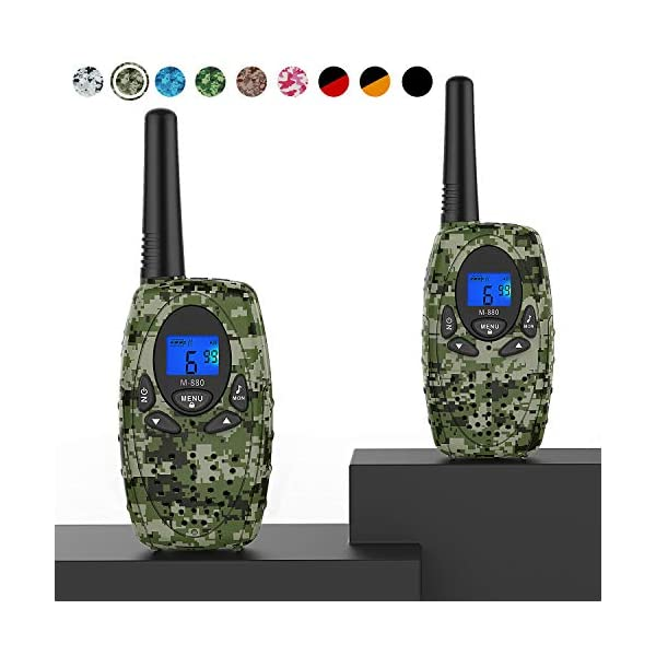 Topsung M880 Walkie Talkies, Two Way Radios for Outdoor Adventures 22 Channels 3...