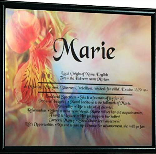 All About You Personalized Name Meaning Print Gifts and Signs ()