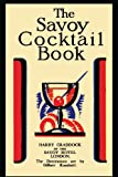 The Savoy Cocktail Book by Harry Craddock front cover
