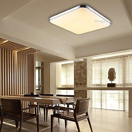 Hengda LED de 12 W luz blanca cálida lámpara de techo ...