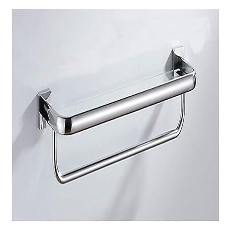 JXXDQ Perchero Libre del baño Estante de Acero Inoxidable ...