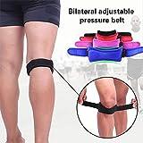 Cinturón de protección para la rodilla, ajustable, alivio efectivo del dolor del ligamento,