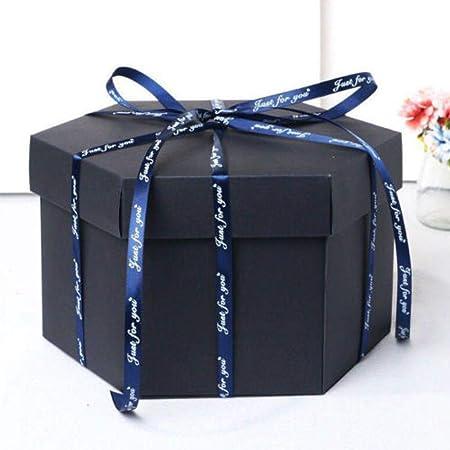 Caja de explosión sorpresa DIY caja de regalo álbum de fotos álbum ...