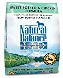 Natural Balance Sweet Potato and Chicken Formula Dog Food, 5-Pound Bag, My Pet Supplies