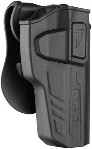 CYTAC Level II Funda de Seguridad táctica | Compatible con Beretta 92/92 FS | GIRSAN Regard MC | GSG92 Airsoft | Incluye Bolsa de Carga Gratis | R-Defender G3 Series