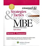 img - for Strategies & Tactics for the MBE, 5th Edition (Emanuel Bar Review) (Paperback) - Common book / textbook / text book