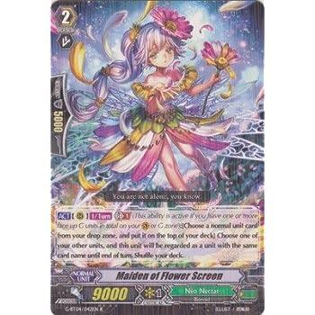 amazon com cardfight vanguard tcg maiden of flower screen pr