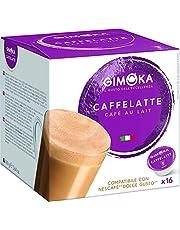 Gimoka Espresso Caffelatte Dolce Gusto - Compatible Capsules - 16 Capsules
