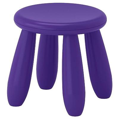 IKEA ASIA Mammut Childrens Stool (Dark Lilac): Kitchen & Dining