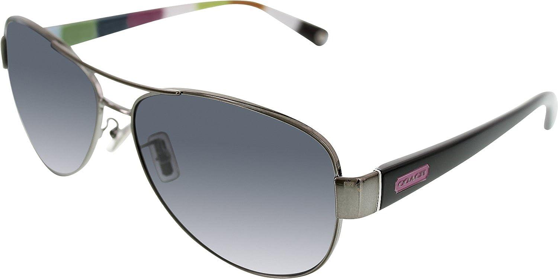 3dd1269a027b0 ... ireland amazon coach sunglasses kristina frame gunmetal lens polarized  grey gradient coach shoes 3d865 7ae07