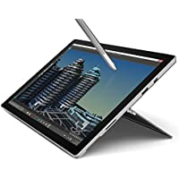 Microsoft Surface Pro 4 12.3 Flagship High Performance Tablet (Intel Core i5, 4GB RAM, 128GB SSD, Bluetooth, Windows 10 Pro), Silver