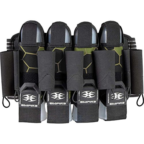 Empire F8 Action Pack - 4 + 7 (Click-A-Color) (Komodo Shamrock) Action Pack Paintball Harness