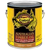 Cabot Stains 3458 Australian Timber Oil Penetrating Formula, 1 gallon, Honey Teak