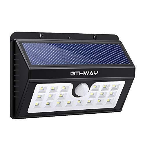 【最安値挑戦!】 Solar Motion Sensor 20 Lights OTHWAY 20 LED B07R4PKKPQ Bright LED Outdoor Waterproof Wall Lights Easy Installation Great Detection Range Security Deck Lights [並行輸入品] B07R4PKKPQ, オキグン:11bb470f --- dou13magadan.ru