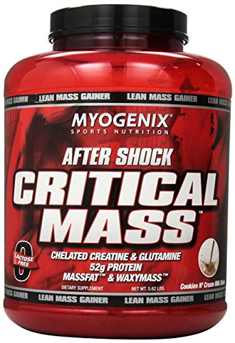 Myogenix Aftershock Crit Mass, Cookies Cream, 5.62L, 6.4