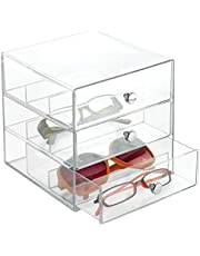 iDesign Stackable Organizer Holder, Clear, (35330)