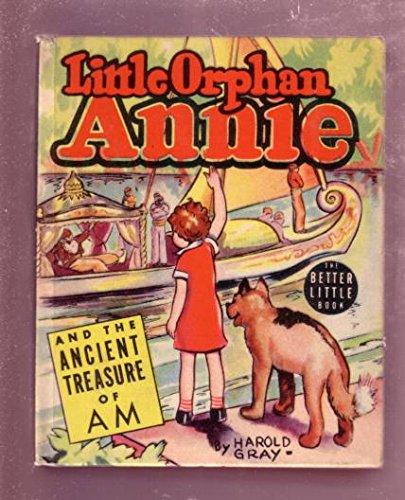 LITTLE ORPHAN ANNIE-1939, # 1414-ANCIENT TREASURE OF AM - Nm Am