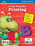 I Can Practice Printing, Vincent Douglas and School Specialty Publishing Staff, 0769628567