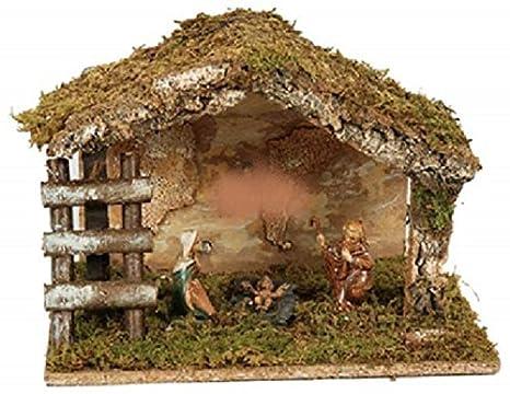 0648ffbe8f7 Navidad - Pesebre Belén con Belén 28   28 cm  Amazon.es  Hogar